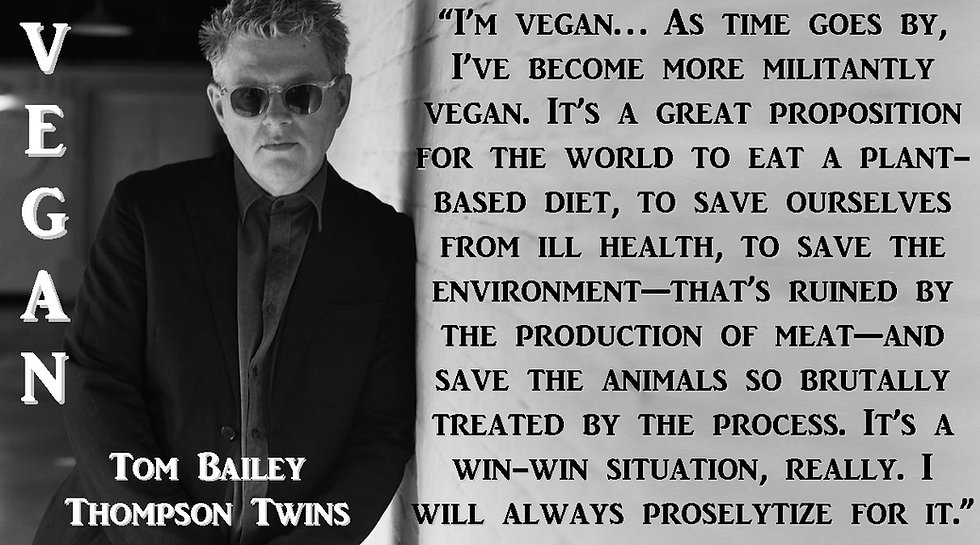 Thompson Twins Vegan