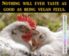 Vegan feels good