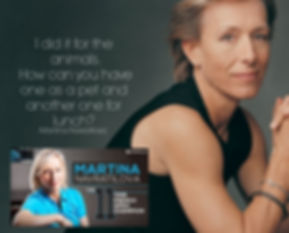 Vegan Athlete Martina Navratilova