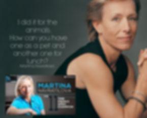 Vegan Athlete Martina Navratilova