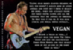 Phil Collen of Def Leppard is vegan