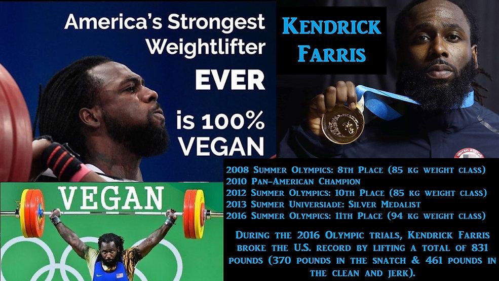 Kendrick Farris Vegan