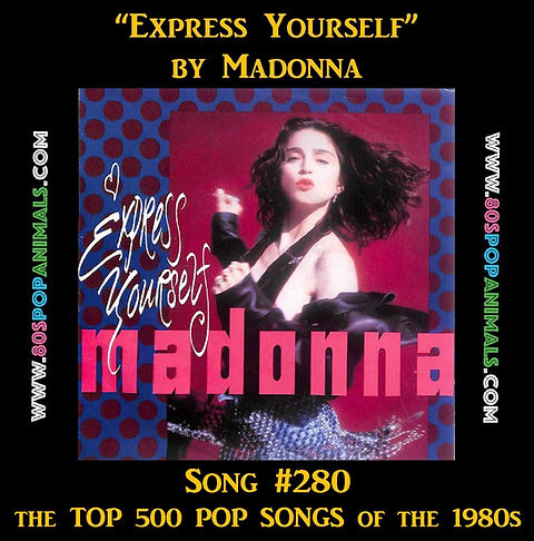 Express Yourself Madonna
