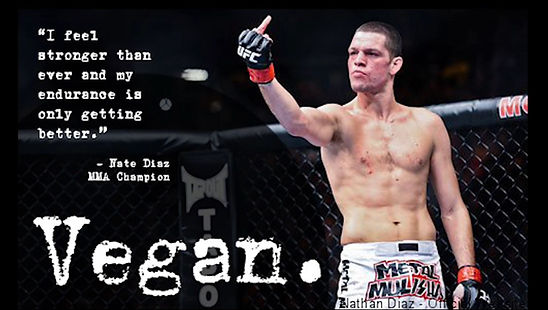 Vegan Athlete Nate Diaz