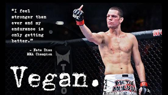 Vegan Athlete Nate Diaz