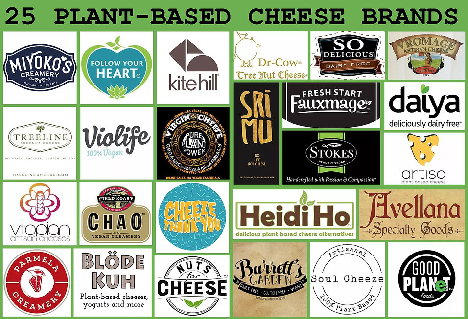 PLANT-BASED CHEESE