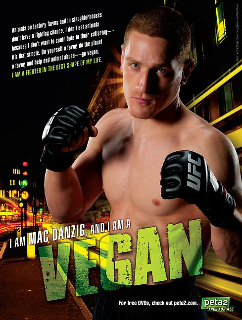 Vegan Athlete Mac Danzig