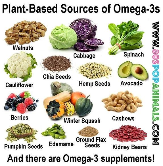 Omega-3s Omegas
