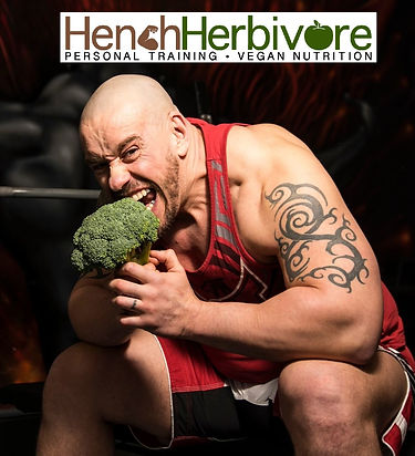 Vegan Bodybuilder Hench Herbivore