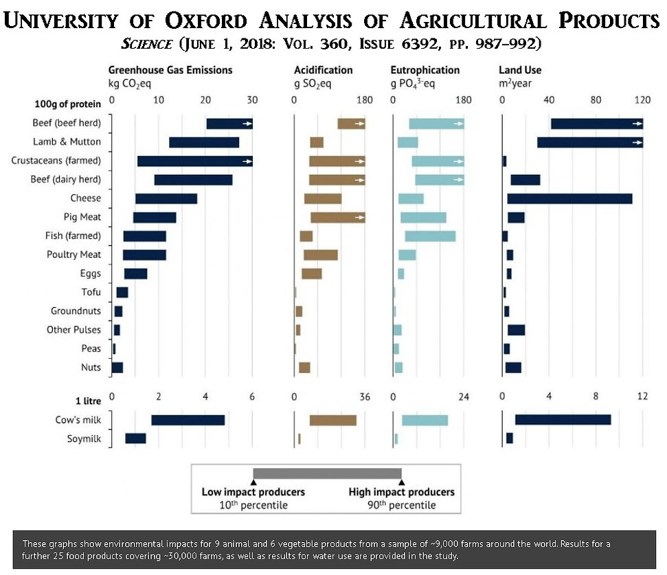 Oxford Study Animal Agriculture Vegan
