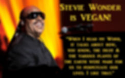 Stevie Wonder Vegan