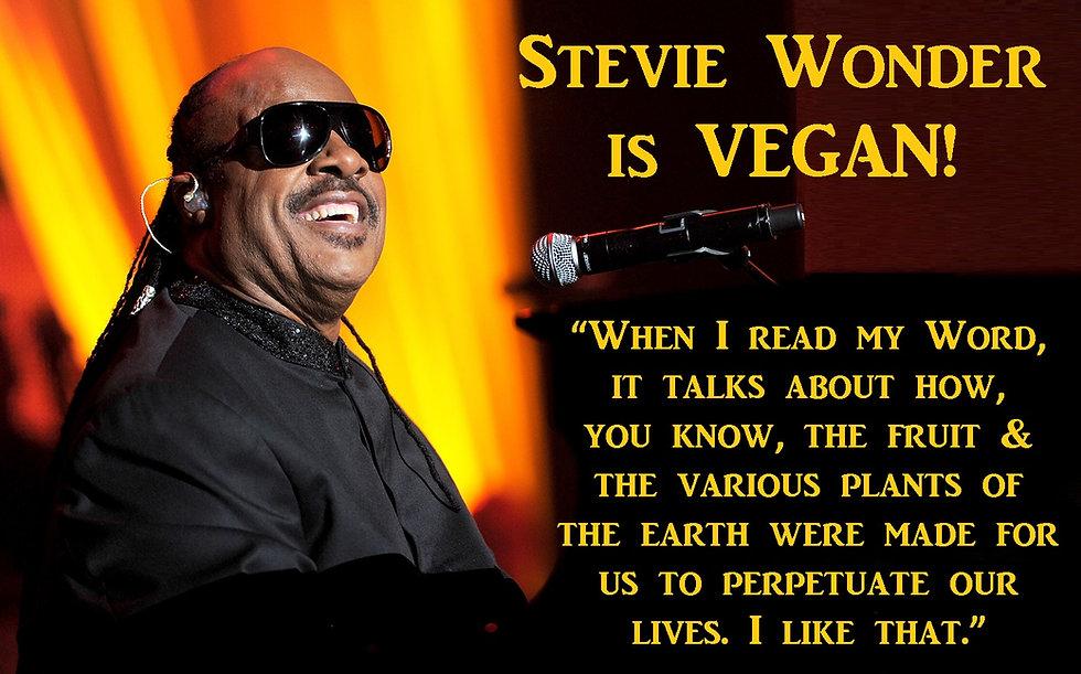 Stevie Wonder Vegan