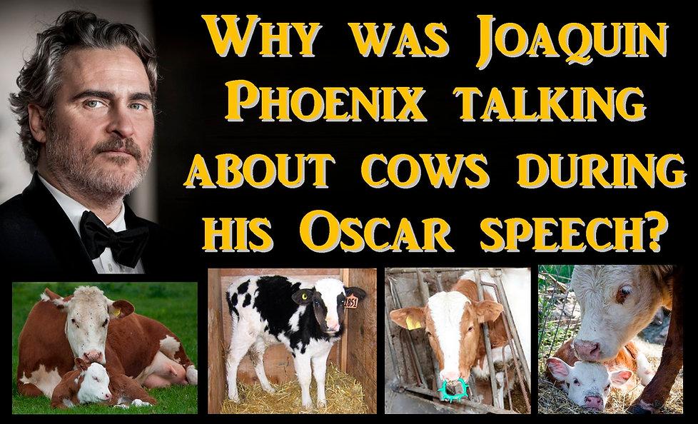 Joaquin Phoenix Vegan Oscar Speech