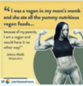 Vegan Bodybuilder Jehina Malik