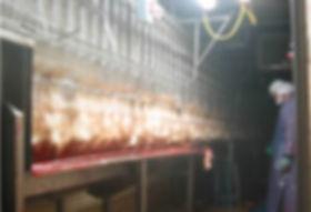 Chicken Water-Bath Slaughter