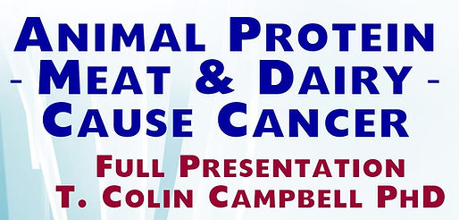 Meat & dairy cause cancer