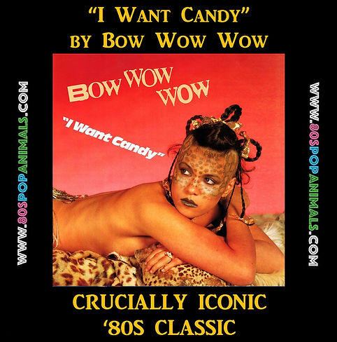 I Want Candy Bow Wow Wow