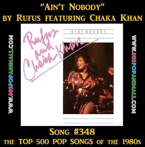 Ain't Nobody Chaka Khan