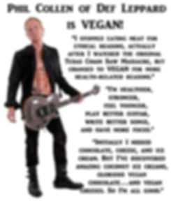 Phil Collen Vegan Def Leppard