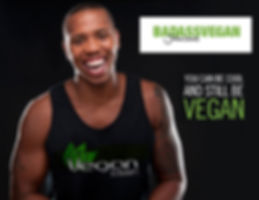 Vegan Bodybuilder Badass Vegan John Lewis