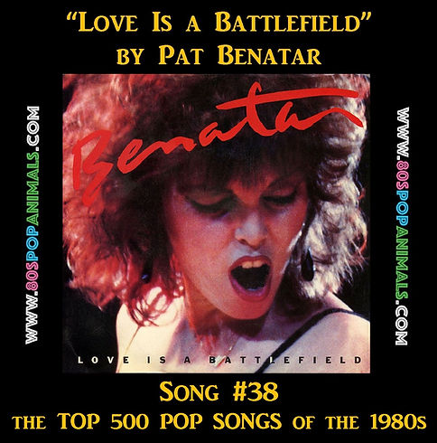 Love Battlefield Pat Benatar