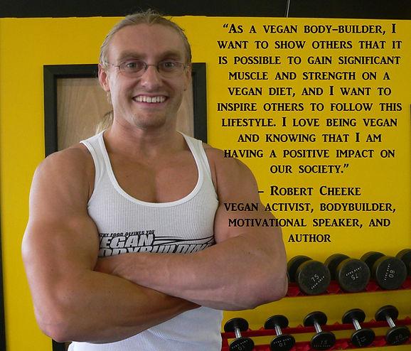 Vegan Bodybuilder Robert Cheeke