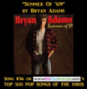 Summer of '69 Bryan Adams
