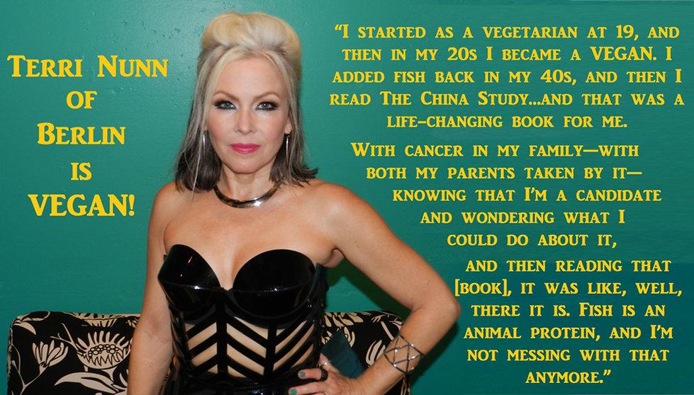 Terri Nunn Berlin Vegan