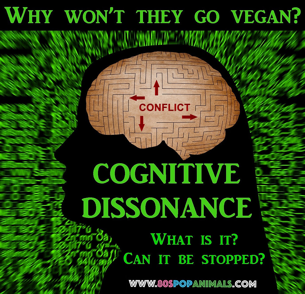 Cognitive Dissonance Vegan