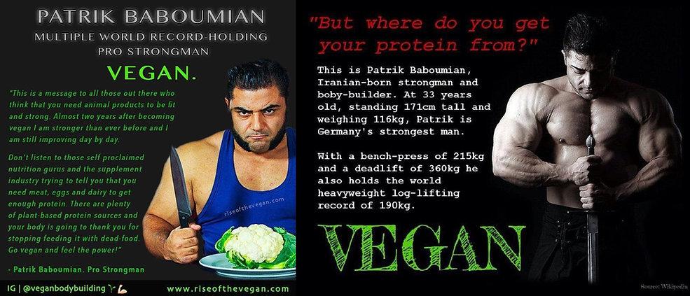 Patrik Baboumian Vegan