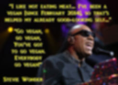 Stevie Wonder is vegan