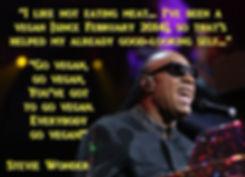 Stevie Wonder is vegan