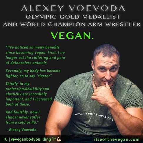 Alexey Voevoda Vegan