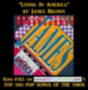 James Brown Living In America
