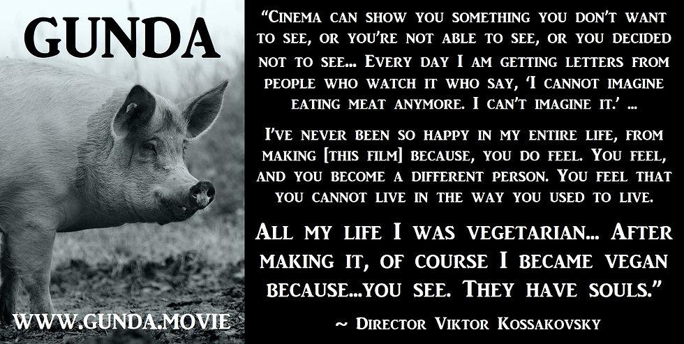 GUNDA documentary