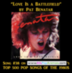 Love Is a Battlefield Pat Benatar