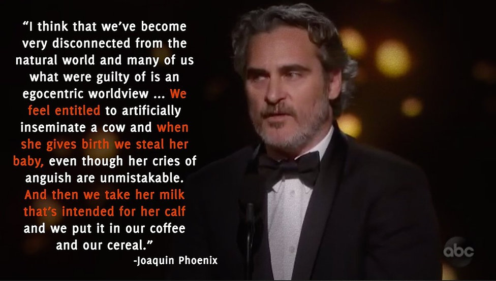 Joaquin Oscar Speech