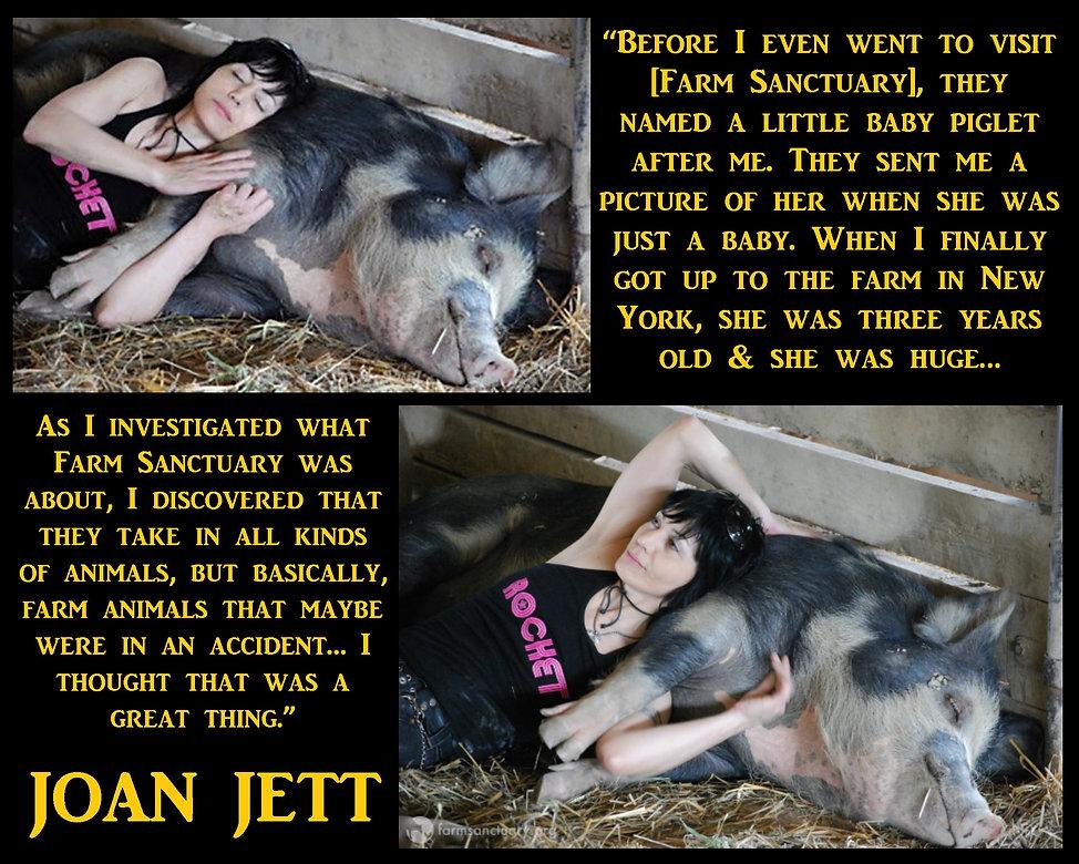 Joan Jett 4 Vegan
