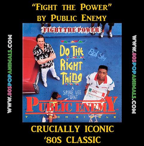 Fight the Power Public Enemey