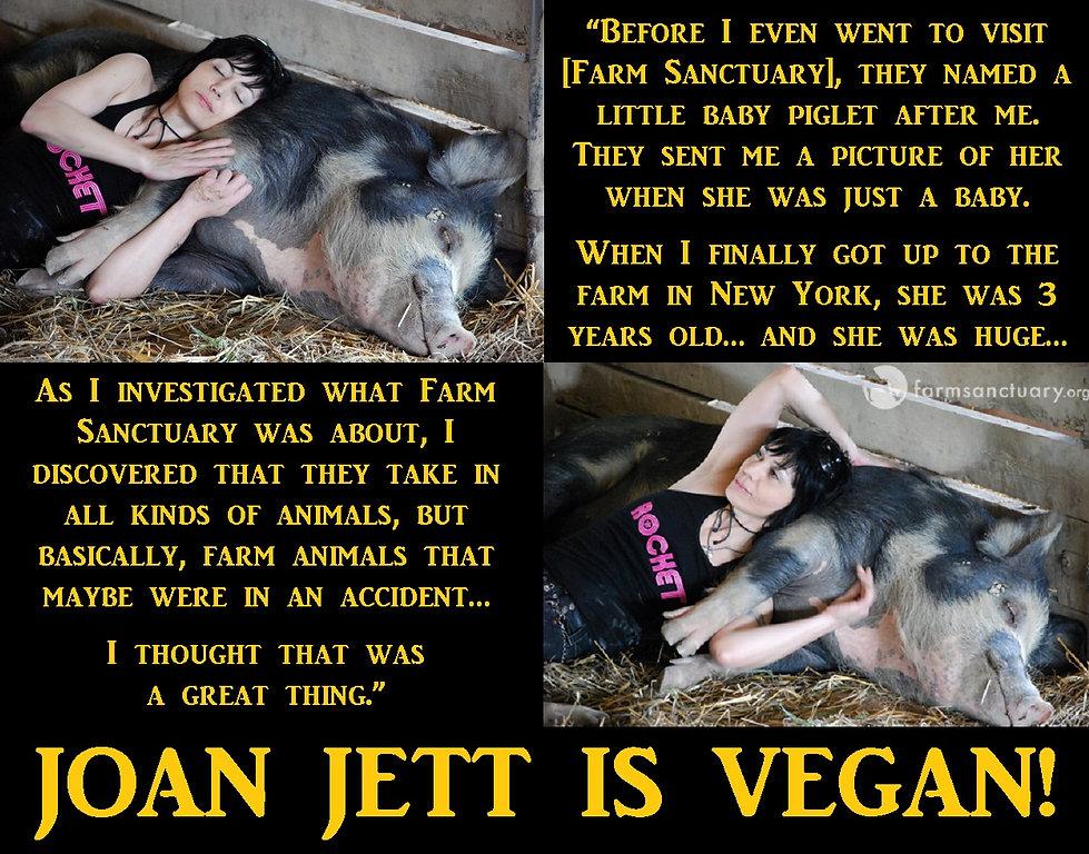 Joan Jett Vegan