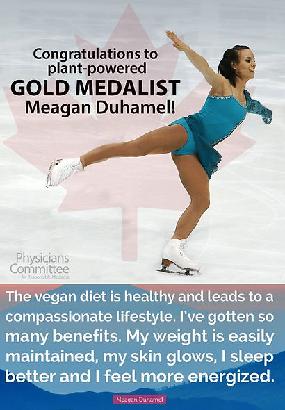 Meagan Duhamel Vegan