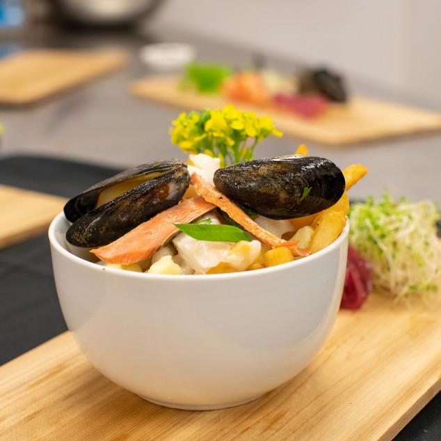 Songhees seafood