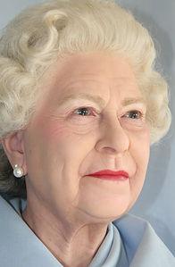 Wax figure Queen Elizabeth 2nd