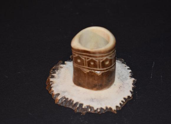 Geweihkerzenhalter/Antler candle holder