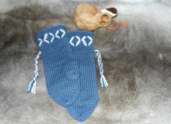 Mittens - blue ▸ Scandinavian style