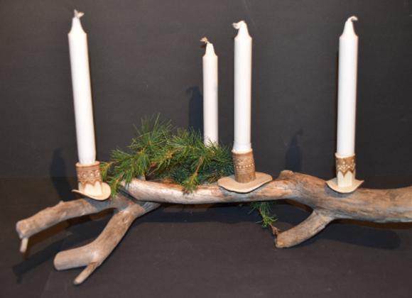 Beautiful candle holder ▸ Sami style 2