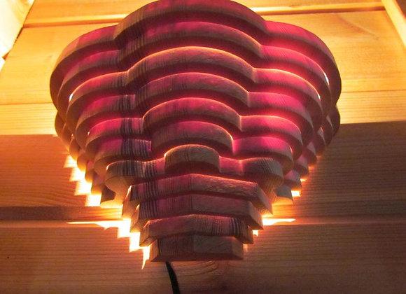 "wooden wall lamp - Scandinavian ▸ ""Kuusamo"""