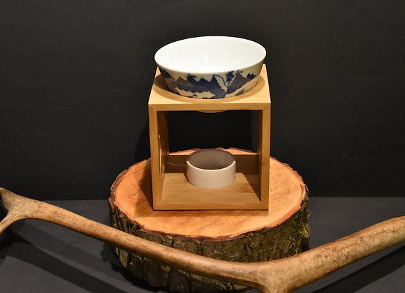 Duftlampe aus Bambus/Bamboo fragrance lamp