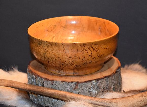 Confectionery bowl made from Finnish curly birch/Konfektschale aus Maserbirke