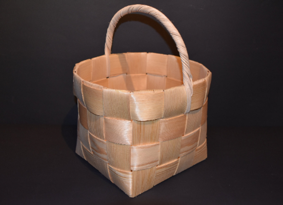 Shopping basket ▸ made of Finnish pine chip 2